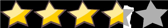 3 estrellas 7 8